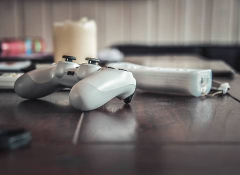video games controller playstation  Free Photo