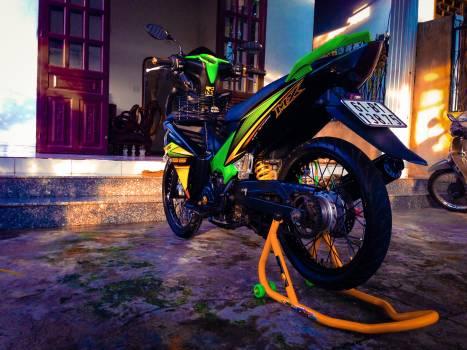 Motorcycle Moped Minibike Free Photo
