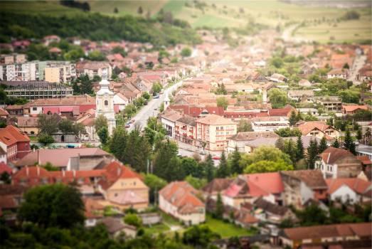 houses village town  Free Photo