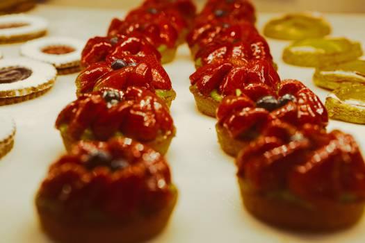 strawberries tarts fruits  #21003