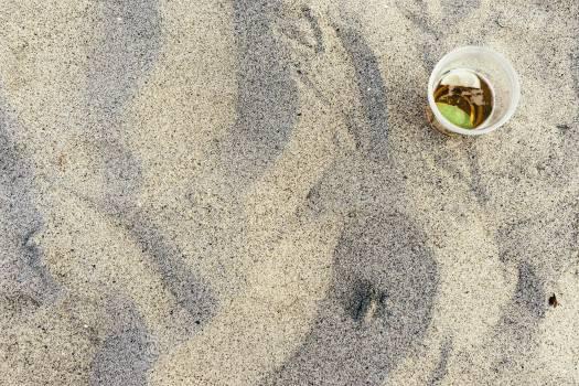 beach sand plastic  #21014