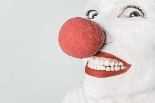 clown makeup red  #21017