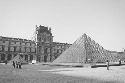 The Louvre Paris France  Free Photo
