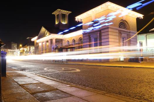 Architecture Building Railway station Free Photo