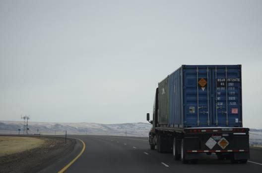 Trailer Truck Road #211328