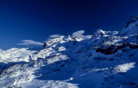 Glacier Mountain Snow Free Photo