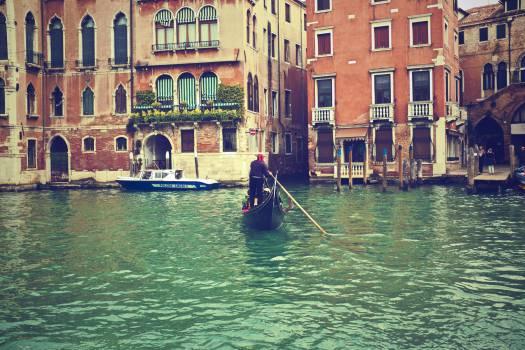 gondola Venice Italy  #21148
