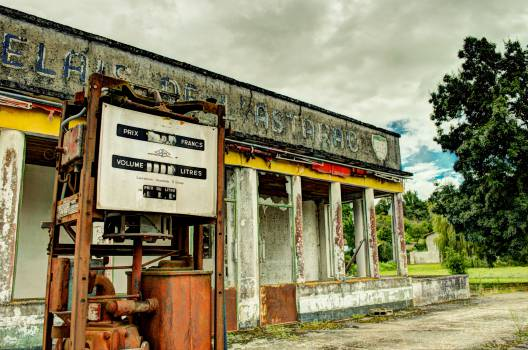 gas station service station pump  Free Photo