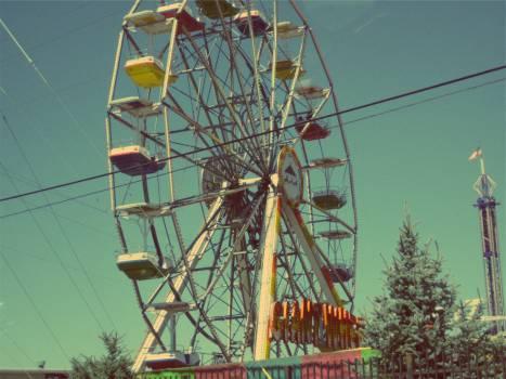 ferris wheel fair fun  #21224