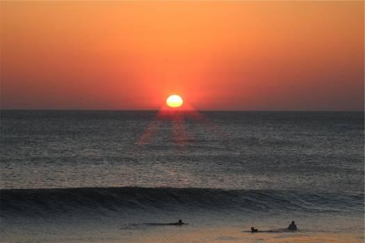 sunset dusk beach  #21277