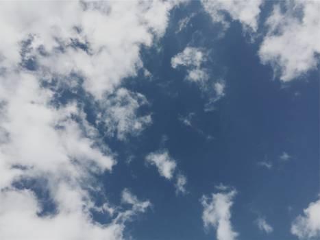 blue sky clouds  Free Photo