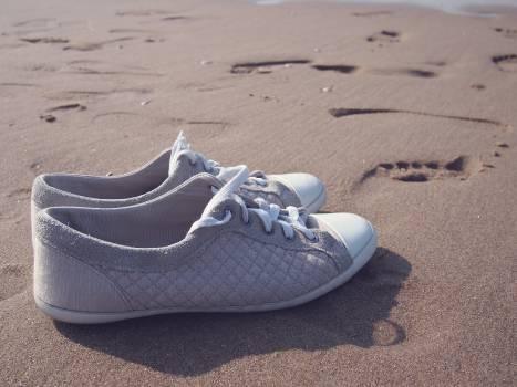 shoes sneakers beach  #21288