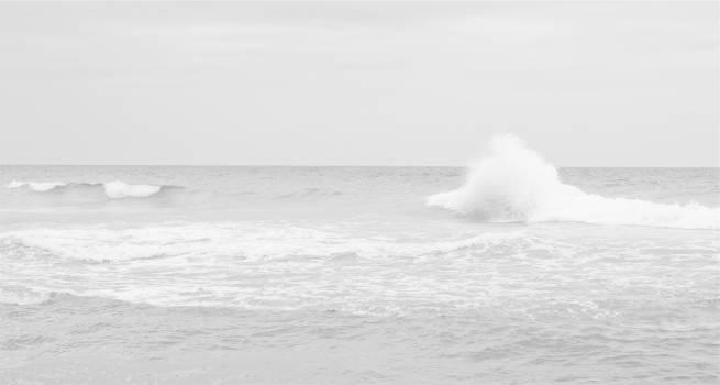 waves water ocean  Free Photo