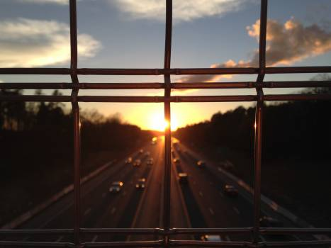sky clouds sun  Free Photo