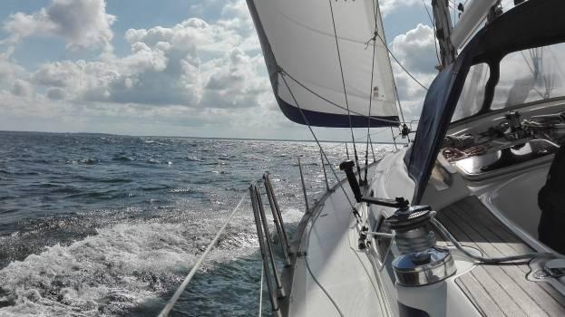 Deck Sail Vessel Free Photo