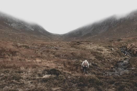 Highland Landscape Mountain Free Photo