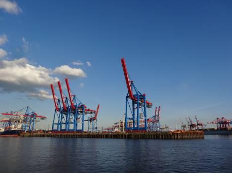 Ship Port Drilling platform Free Photo