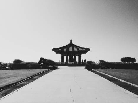 Korean Bell of Friendship Angels Gate Park culture  Free Photo