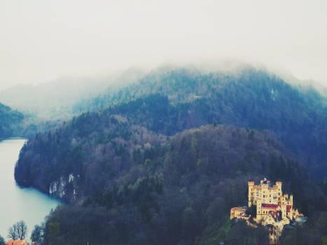 castle landscape trees  Free Photo