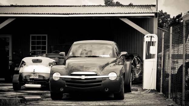 cars vintage garage  Free Photo