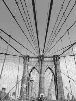 Bridge Structure Suspension bridge Free Photo