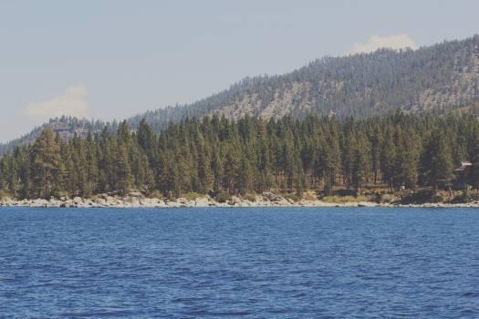 lake water rocks  #21518