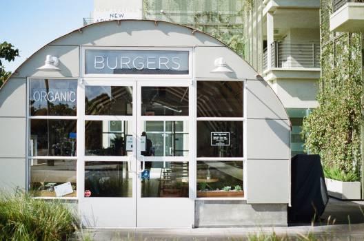 restaurant burgers organic  Free Photo