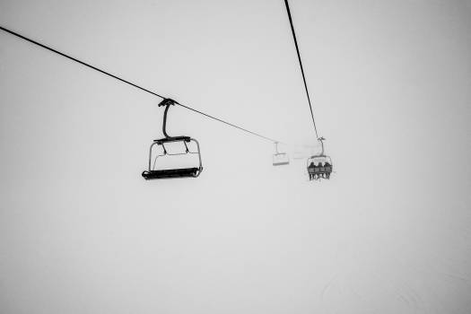 Chairlift Ski tow Conveyance Free Photo