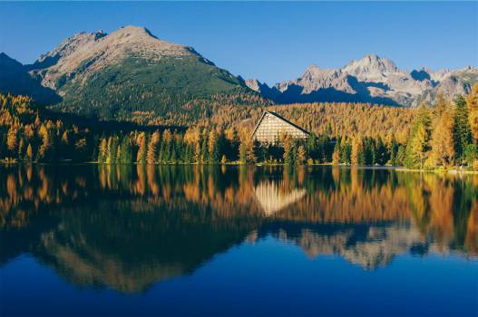 landscape lake water  Free Photo