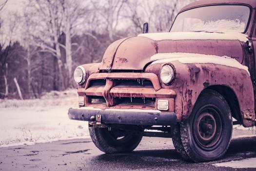 truck old vintage  #21654