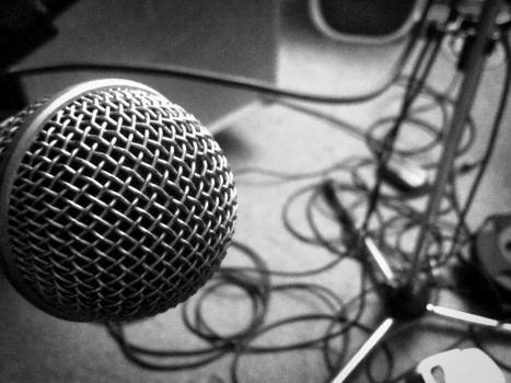 Microphone Electrical device Music Free Photo