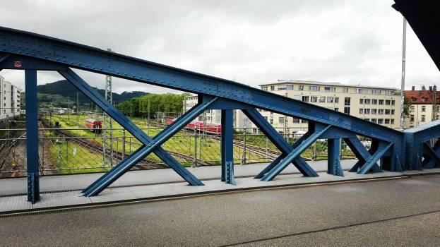 Railing Bridge Sky Free Photo