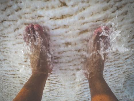 feet foot toes  Free Photo