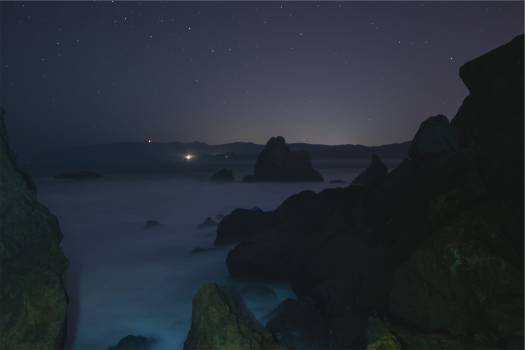stars sky night  #21818