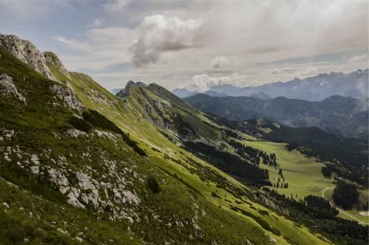 landscape mountains hills  #21826