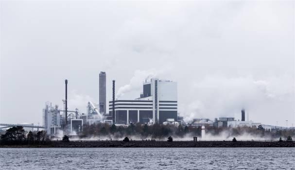 industrial buildings warehouses  Free Photo
