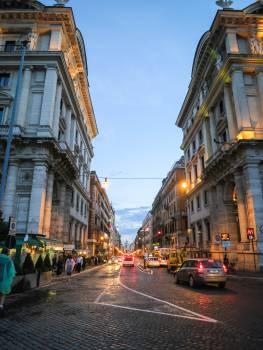 Via Nazionale Rome Italy  Free Photo