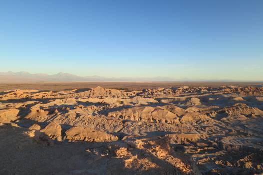 Valle de la Luna Chile dunes  Free Photo