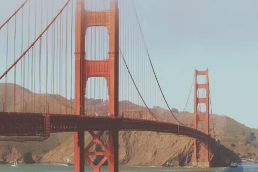 Golden Gate Bridge San Francisco architecture  #21994