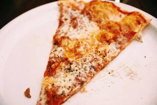 pizza slice food  Free Photo