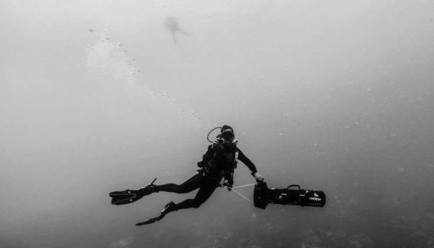 Scuba diver Athlete Diver Free Photo