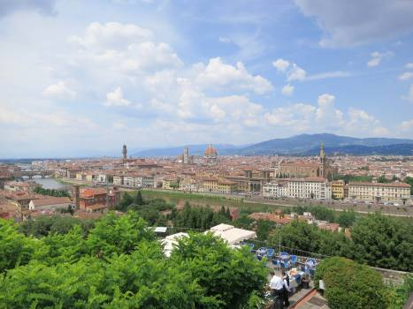 Piazzale Michelangelo Florence Italy  Free Photo