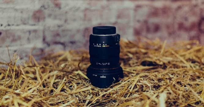 lens nikon straw  Free Photo