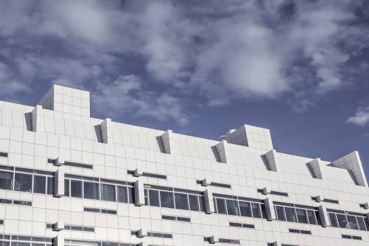 building architecture windows  Free Photo