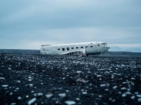 airplane crash damage  #22128