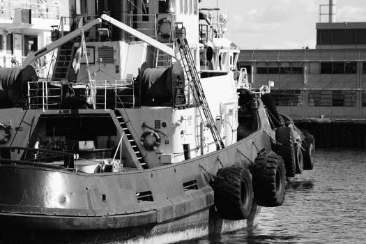 fishing boat ship pier  Free Photo