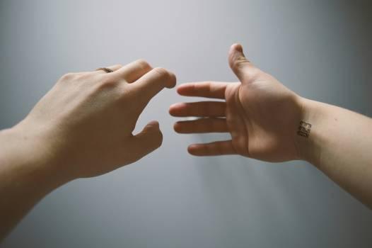 Hand Partnership Finger Free Photo