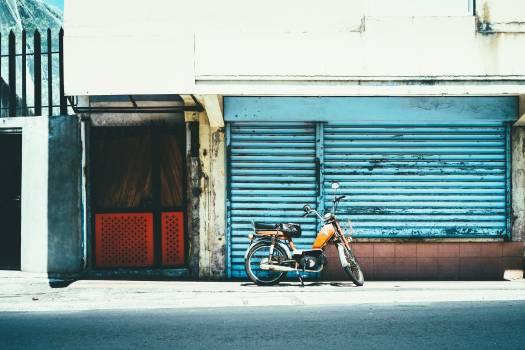 Garage Wheeled vehicle Vehicle Free Photo