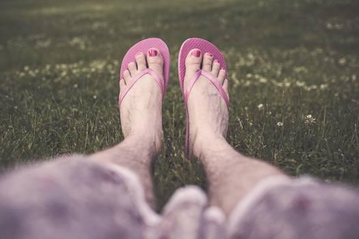 sandals flip flops toes  #22252