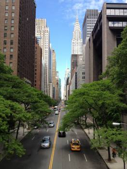 new york city road  Free Photo